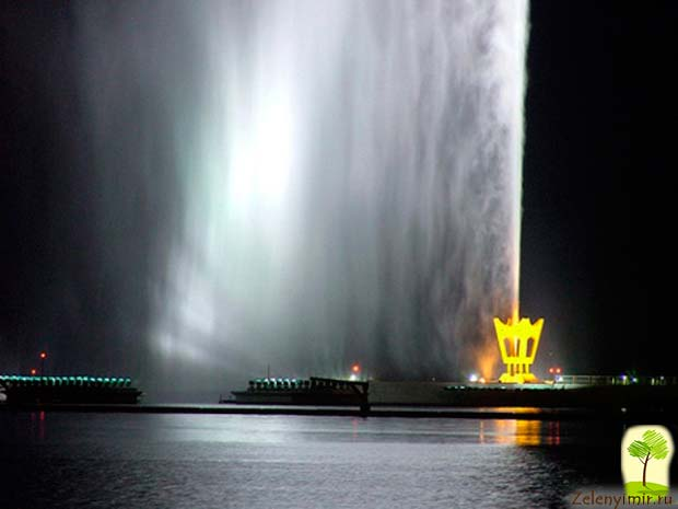 Фонтан Фахда - самый высокий фонтан в мире, Саудовская Аравия - 7