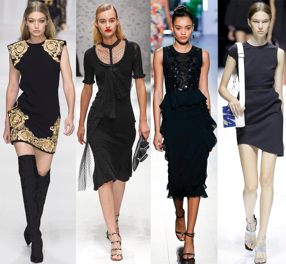 Черное платье – это изысканно и элегантно