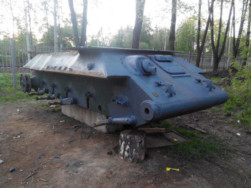 Восстановление танка Т-34 своими руками