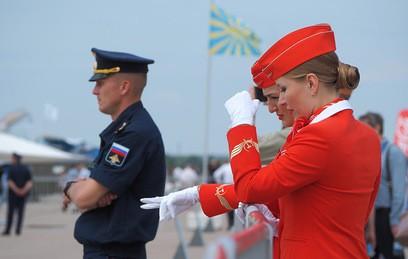 В Жуковском проходит заключительный день авиасалона МАКС-2017