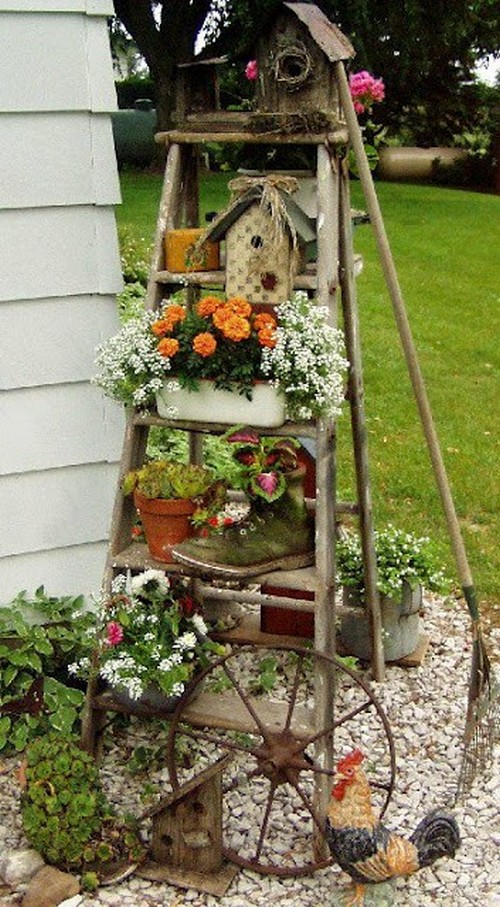 Фото оформление садового участка своими руками