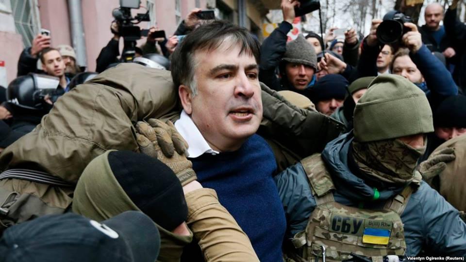 Посольство США отреагировало на попытку задержания Саакашвили
