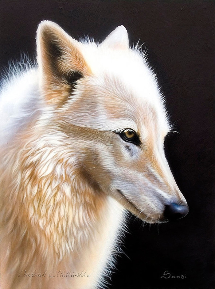 Awesome realistic drawings of animals 19