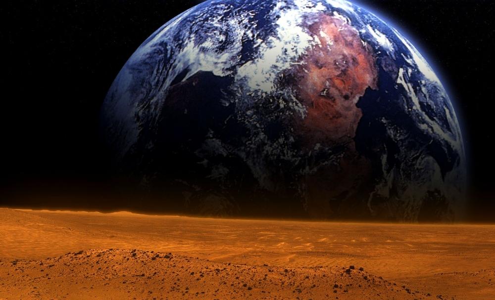NASA придумало способ сделать атмосферу Марса пригодной для жизни