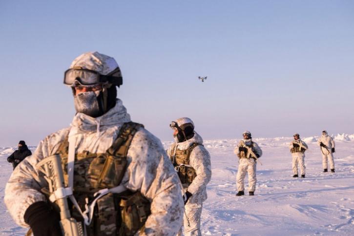Внезапные морозы, на учениях в Норвегии, стали сюрпризом для солдат НАТО
