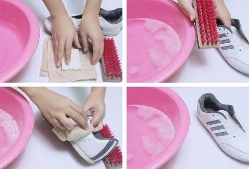 Белая обувь из кожи: чистка и сохранение цвета