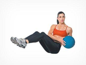 Упражнения, которые приведут в порядок живот всего за 1 месяц.