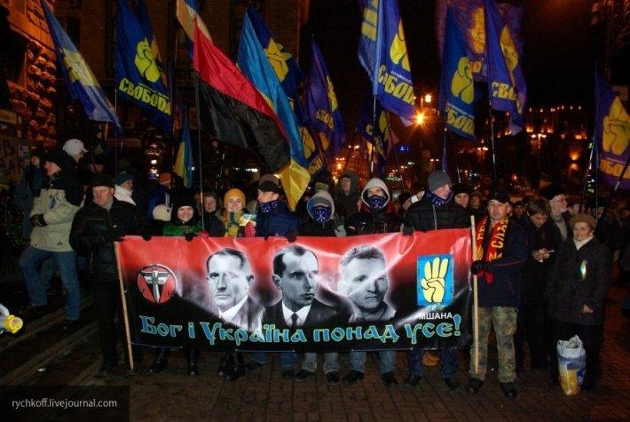 «Игры» Европы с укронацистам…