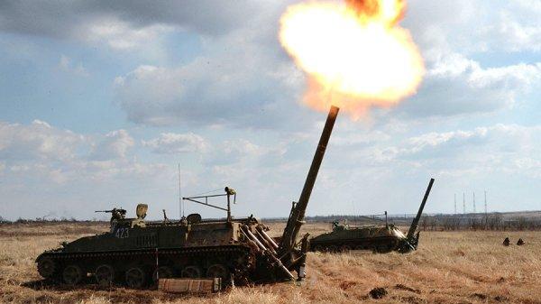 Российская артиллерия наращивает мощь