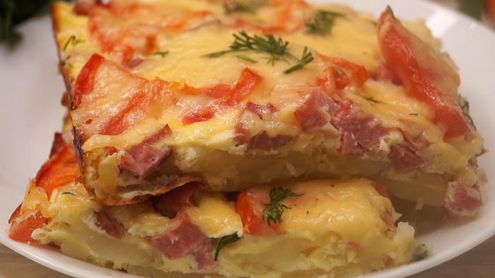 Картофельная запеканка в стиле пиццы. Запеканка, Картофельная запеканка, Рецепт, Видео рецепт, Видео