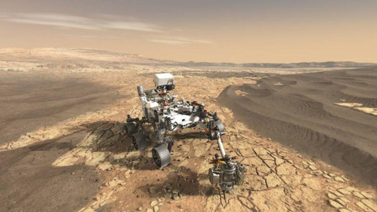 В NASA протестировали марсоход для миссии «ЭкзоМарс-2020»