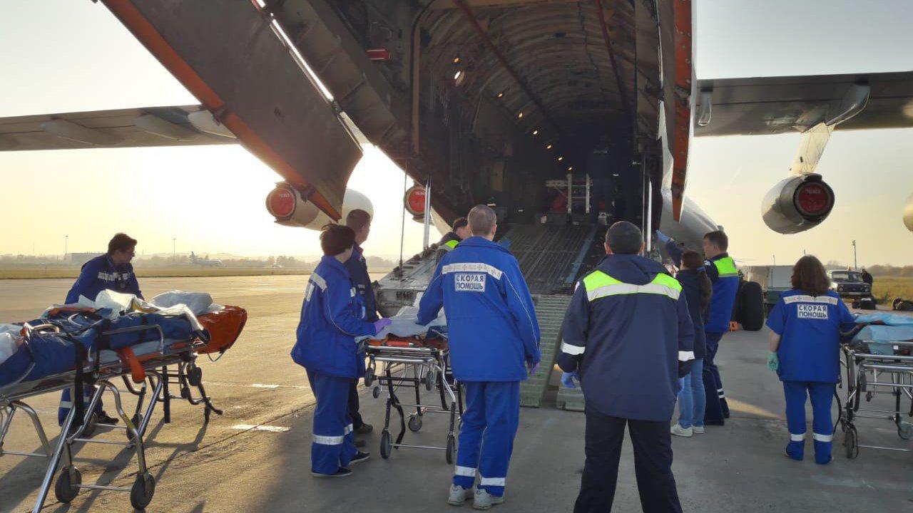 Скворцова рассказала о состоянии госпитализированных в Москву пострадавших в Керчи