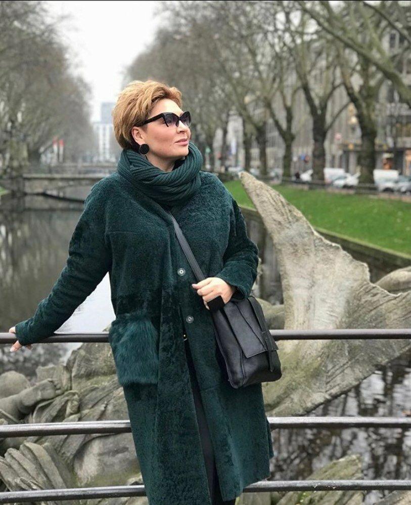@konarevairina / Ирина Конарева в шубе. /Фото: instagram.com
