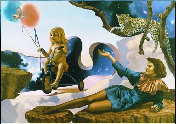 Фантазии голландского художника Herman Smorenburg