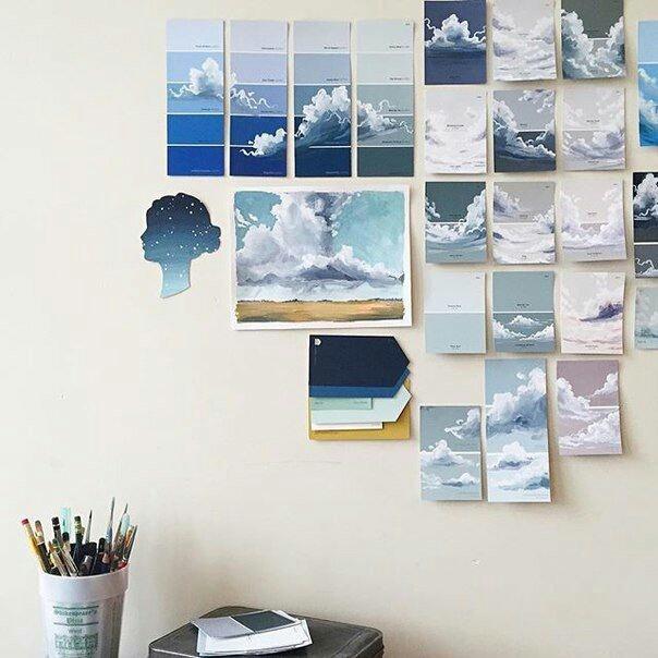 Картины на палитре
