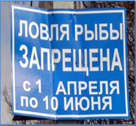 нерестовый запрет