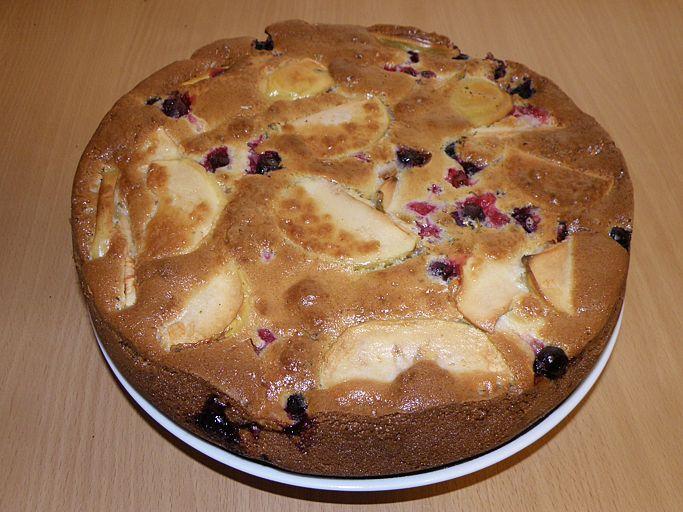 Пирог Шарлотка готов. пошаговое фото этапа приготовления пирога Шарлотка