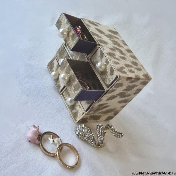 Комодик из спичечных коробков (5) (600x600, 144Kb)