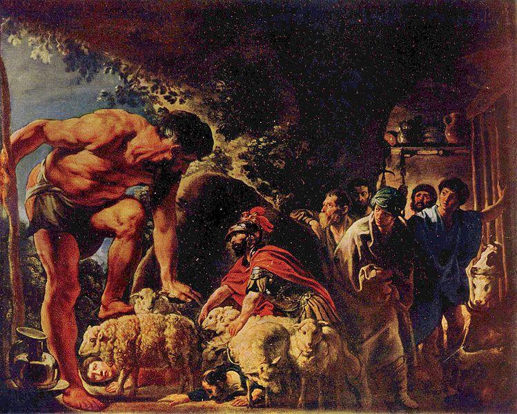 задачи, фреска возвращение одиссея репродукция Тюль шторы Постельное