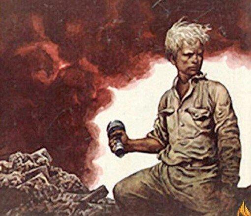 Прижимая обрубком руки гранату к груди, мальчишка лег под танк. На этом свете Ваня боевых наград не дождался