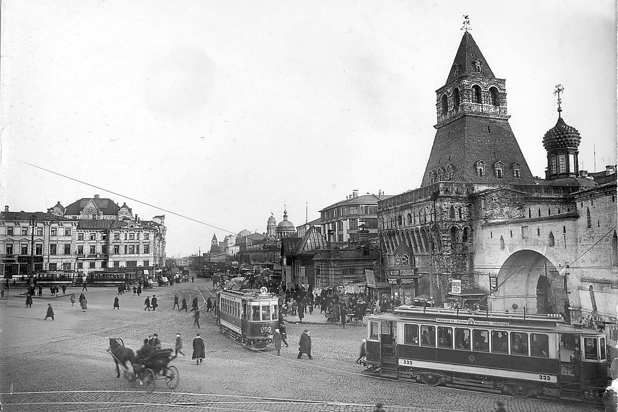 Фотографии старой Москвы(84 фото)