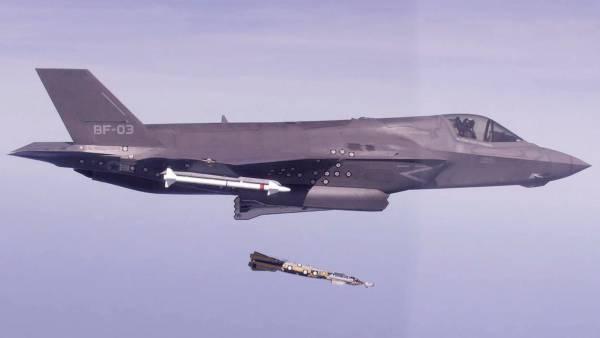 «Из пушки по воробьям», или провальный дебют истребителя F-35B ВВС США в Афганистане