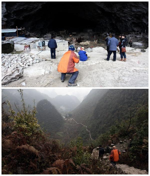 Туристы стали частыми гостями деревни Чжундун (Китай).   Фото: fishki.net.