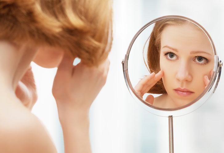 Основные факторы влияющие на старение кожи.