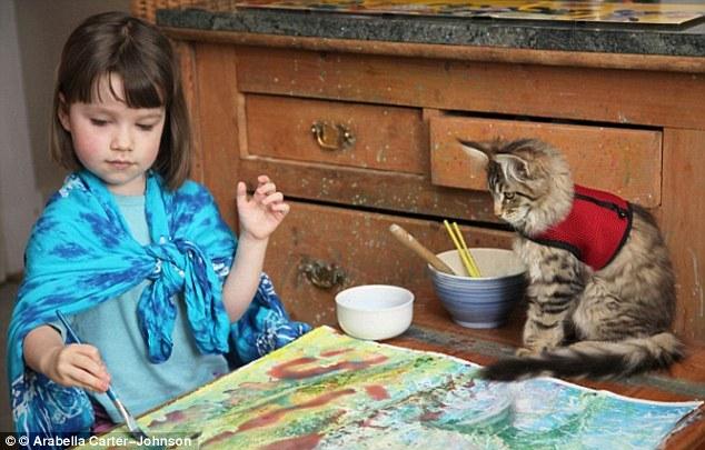 Удивительная история близкой дружбы девочки-аутистки и её кошки