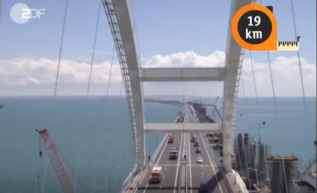 Немцы про Крымский мост: Одолжите нам российских строителей