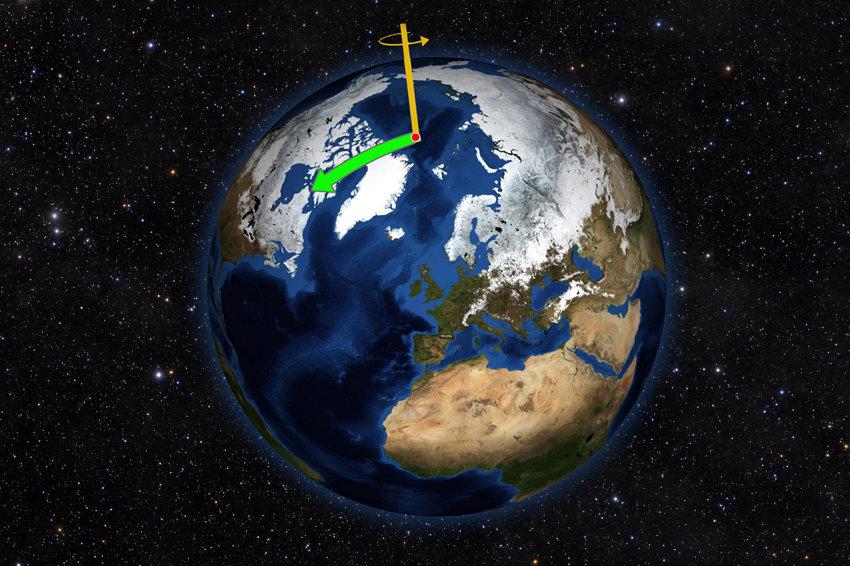Ученые: Северный полюс Земли смещается на восток