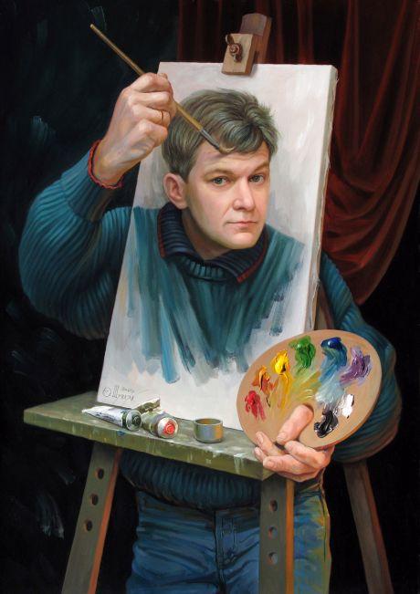 Олег Шупляк: картины с двойным смыслом