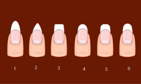 Как сделать маникюр с квадратной формой ногтя