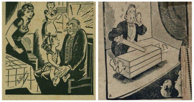 30 иллюстраций, показывающих над чем смеялись наши предки