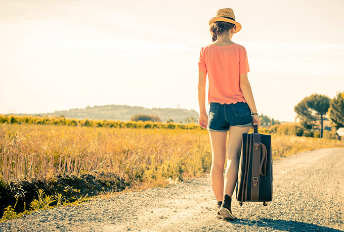 Счастливые женщины не носят большие сумки...