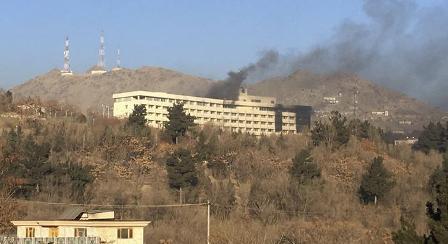 Атака боевиков наотель вКабуле отражена, нападавшие ликвидированы