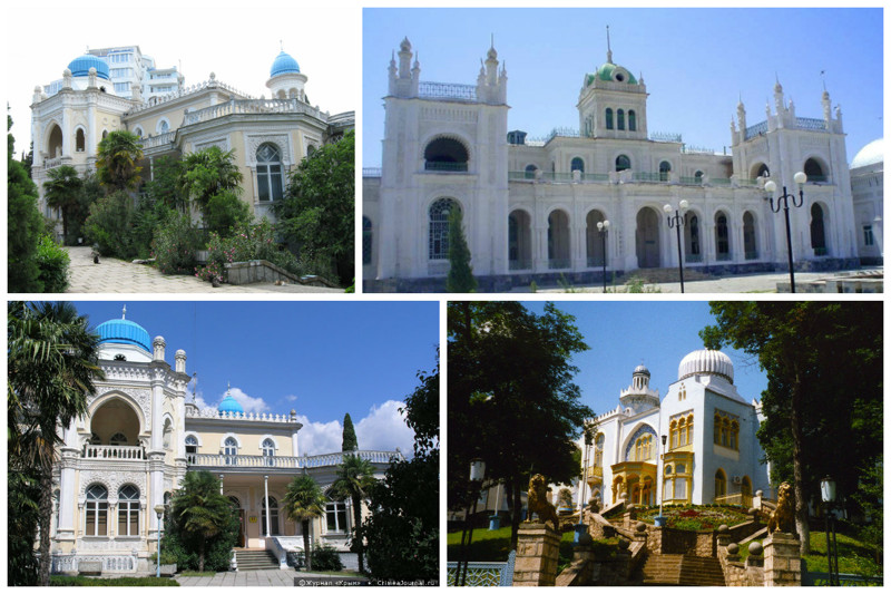 Дворец Эмира Бухарского интересное, красота, факты, ялта
