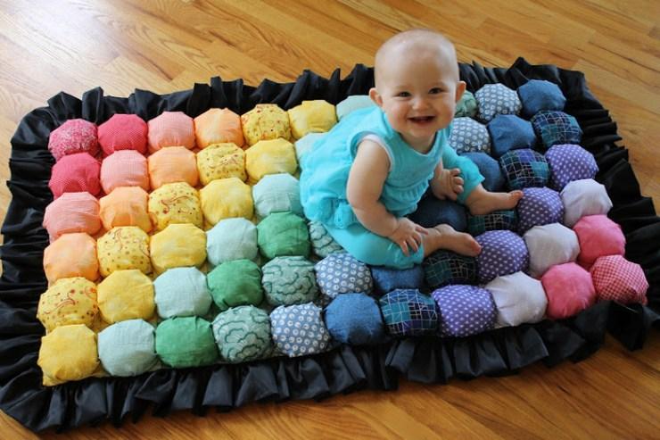 Потрясающее одеяло в технике Bubble Quilt. МК