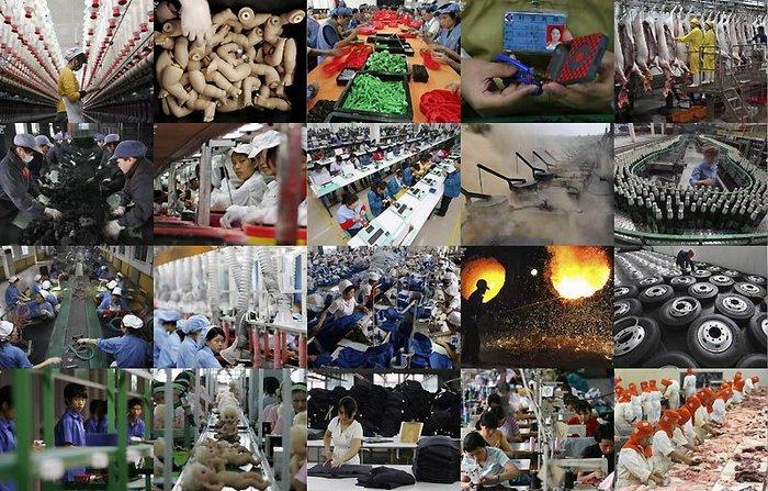 Китай: Всемирная Фабрика (36 фото + текст)