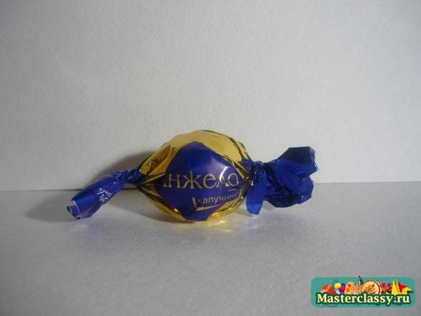 Очаровательное оформление коробочки конфет!