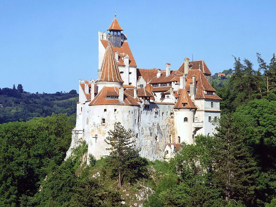 """Замок Бран - """"центр вампирской Трансильвании"""""""
