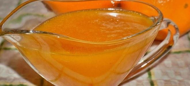 Апельсиновый карамельный соус