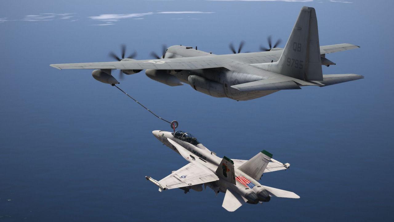 СРОЧНО: разбились самолёты ВМС США