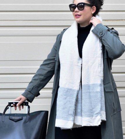 Уличная мода 2018 – свежие осенние образы от модной пышечки Tanesha Awasthi