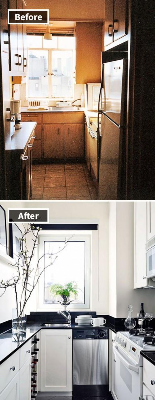 """Фото """"До и После"""" ремонта, вдохновляющие сделать то же самое и в своей квартире!"""
