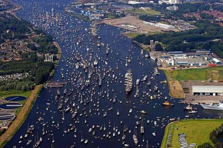 Самый большой парад судов: SAIL Amsterdam — уникальная возможность увидеть самые прекрасные корабли
