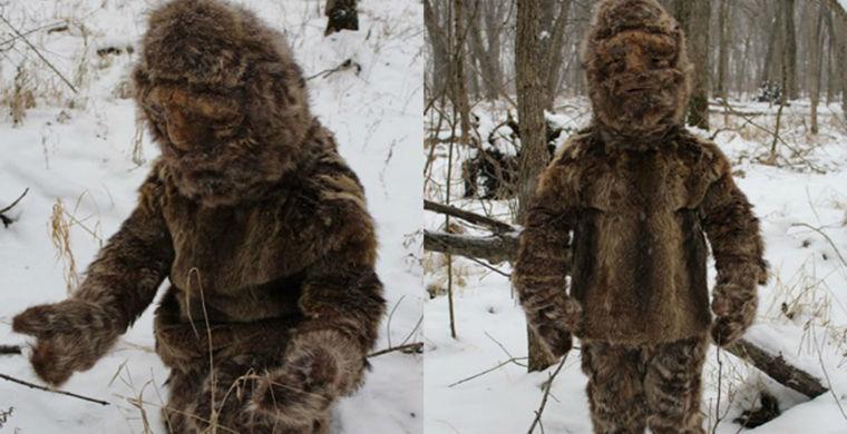 Охотников за снежным человеком забросал камнями язычник в шкурах