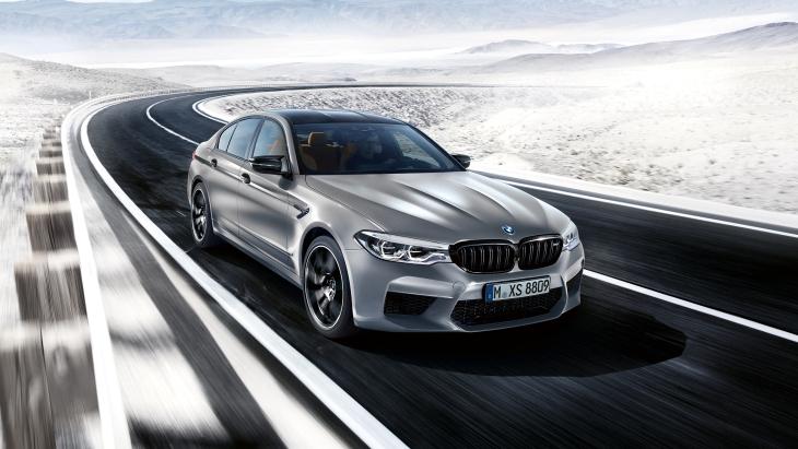 «Баварский зверь»: представлен 625-сильный седан BMW M5 Competition