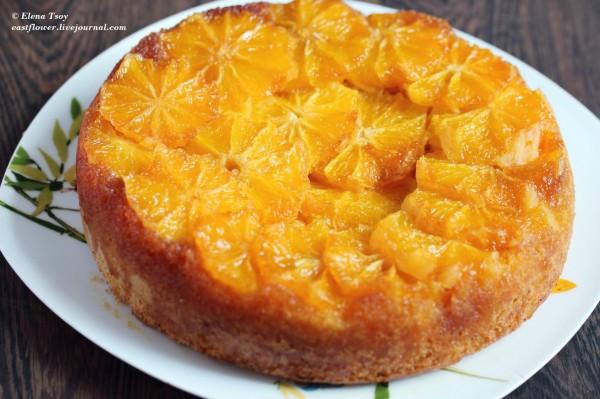 пирог апельсиновый в духовке