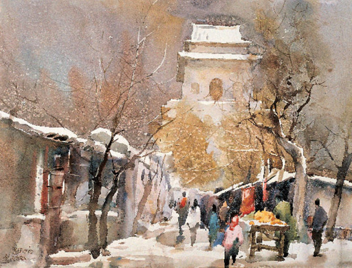 Художник Liu Feng Lan